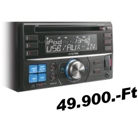 Erősítő csatlakoztatható a rádióállományhoz