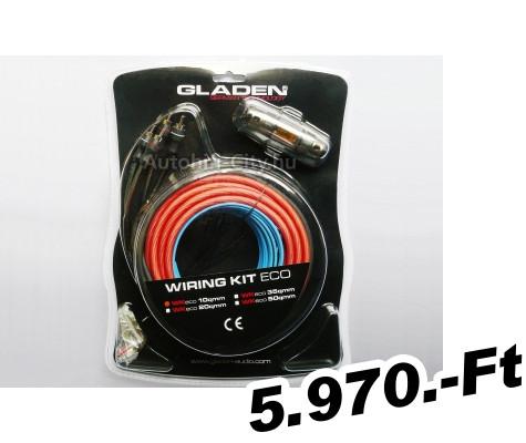 kábelszett autóhifi bekötéshez MANUFACTURER Autóhifi kábel készlet 10 mm   erősítő bekötéshez Gl 1786a35e64