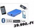 Dension Dension Gateway Lite BT MkII iPod és USB interface Bluetoot  Alfa Romeo